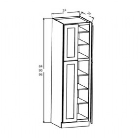 UTILITY CABINETS-4 DOORS