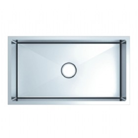 Square Single Bowl Stainless Steel Kitchen Sink